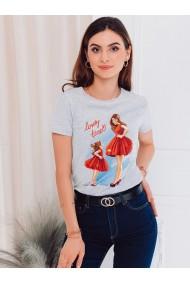 Tricou femei SLR011 - gri