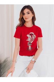 Tricou femei SLR008 - rosu