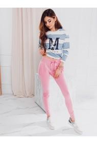 Pantaloni de trening femei PLR001 - roz II