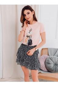 Tricou femei SLR010 - roz