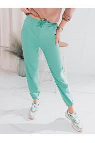 Pantaloni de trening femei PLR046 - menta