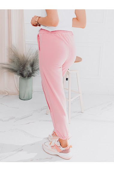 Pantaloni de trening femei PLR046 - roz