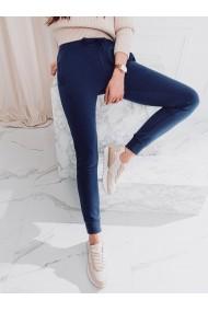 Pantaloni de trening femei PLR001 - albastru-deschis