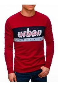 Bluza barbati B1290 - rosu