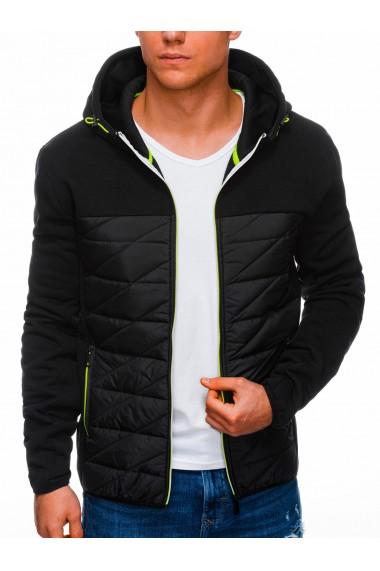 Jacheta barbati B1292 - negru