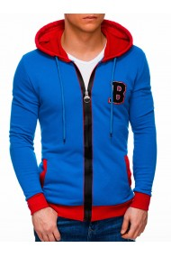 Hanorac barbati B1309 - albastru
