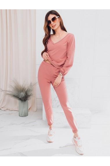 Pantaloni de trening femei PLR049 - roz