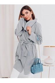Palton dama CLR011 - gri