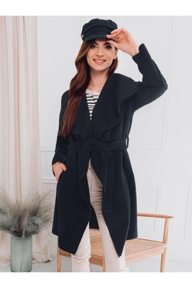 Palton dama CLR011 - negru
