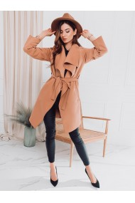 Palton dama CLR011 - camel