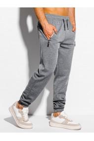 Pantaloni de trening barbati - P1050 - gri