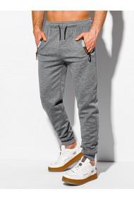Pantaloni de trening barbati - P1051 - gri