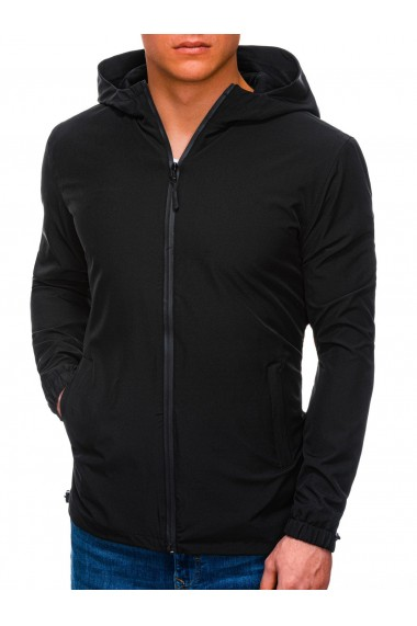 Jacheta fas barbati C495 - negru