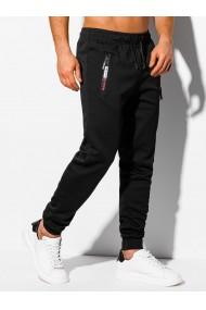 Pantaloni de trening barbati - P1051 - negru