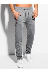 Pantaloni de trening barbati - P1049 - gri