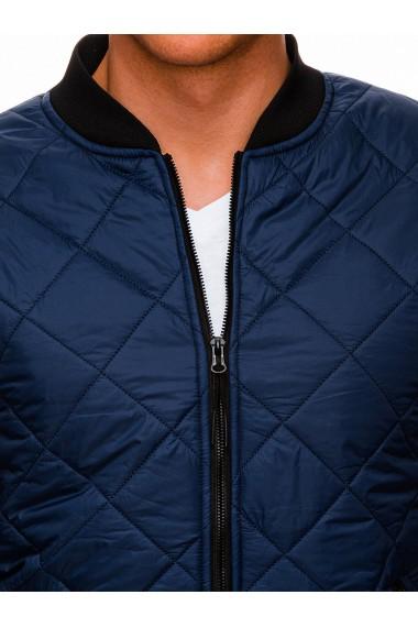 Jacheta barbati C397 - bleumarin-inchis