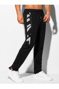 Pantaloni de trening barbati - P1044 - negru