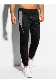 Pantaloni de trening barbati - P1042 - negru