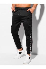 Pantaloni de trening barbati - P1040 - negru