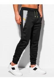 Pantaloni de trening barbati - P1041 - negru