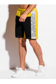 Pantaloni scurti barbati - W317 - negru