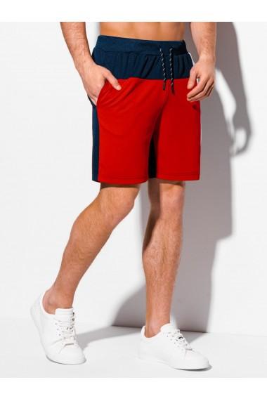 Pantaloni scurti barbati - W317 - rosu