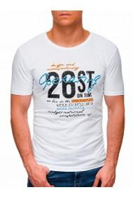 Tricou barbati S1422 - alb
