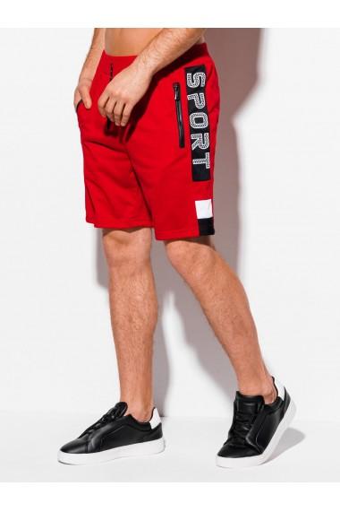 Pantaloni scurti barbati W314 - rosu