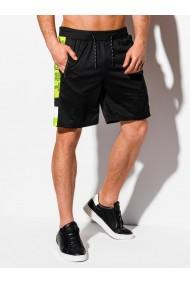 Pantaloni scurti barbati W314 - negru