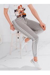 Pantaloni de trening femei PLR051 - gri