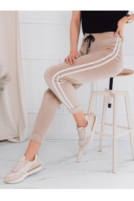 Pantaloni de trening femei PLR051 - bej
