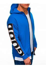 Hanorac barbati B1039 - albastru