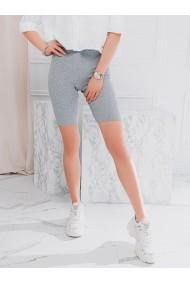Pantaloni scurti femei WLR002 - gri-melanj