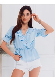 Bluza femei LLR005 - albastru-deschis