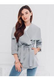 Palton dama CLR010 - gri