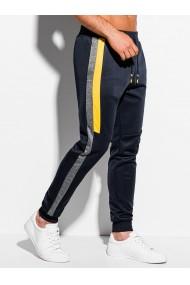 Pantaloni de trening barbati P1076 - bleumarin