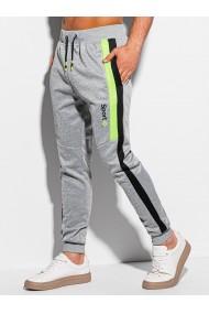 Pantaloni de trening barbati P1076 - gri