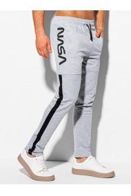Pantaloni de trening barbati P1082 - gri