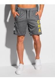Pantaloni scurti barbati - W321 - gri-inchis