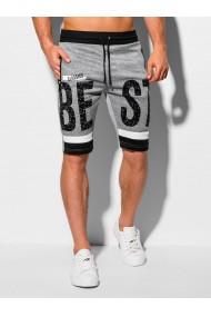 Pantaloni scurti barbati - W323 - gri