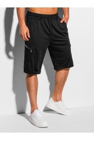 Pantaloni scurti barbati - W326 - negru