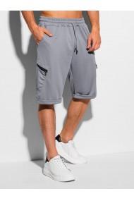 Pantaloni scurti barbati - W326 - gri