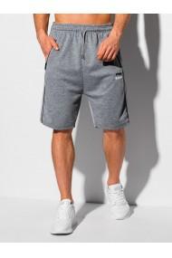 Pantaloni scurti barbati W327 - gri
