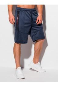 Pantaloni scurti barbati W328 - bleumarin