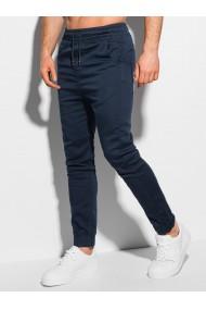 Pantaloni joggers barbati P1037 - bleumarin