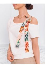 Bluza femei LLR008 - ecru