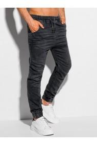 Pantaloni joggers barbati P1038 - negru