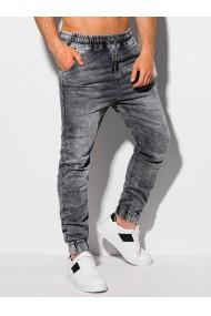 Pantaloni joggers barbati P1038 - gri