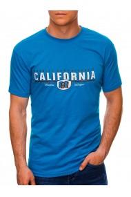 Tricou barbati S1456 - albastru