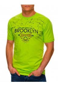 Tricou barbati S1457 - verde